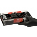 Colad Nitril Einweghandschuhe schwarz extra stark Gr L