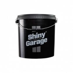 SHINY GARAGE WASCHEIMER 20 LITER SCHWARZ mit Deckel