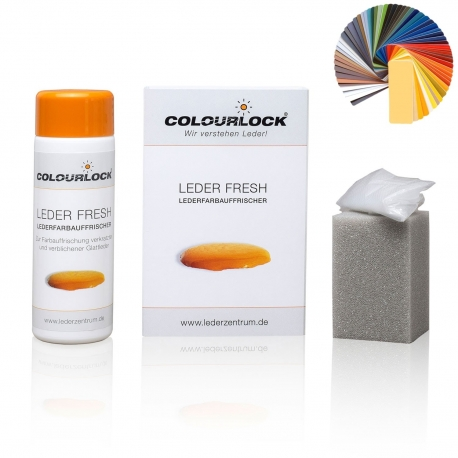 Colourlock Leder Fresh Tönung 150 ml schwarz (Farbe F034)