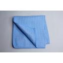 3 x Profi Mikrofaser Waffeltuch blau 40 x 40 cm hellblau