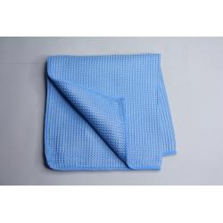 Profi Mikrofaser Waffeltuch blau 40 x 40 cm hellblau