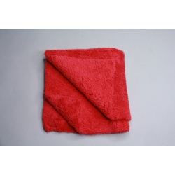Profi Autopoliertuch Microfasertuch rot, ultraschallgeschnitten 40x40 cm