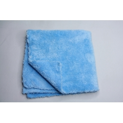 5x Profi Autopoliertuch Microfasertuch blau, ultraschallgeschnitten 40x40 cm