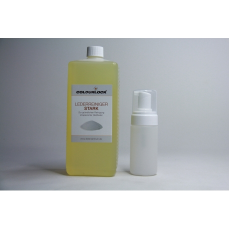 COLOURLOCK Leder Reiniger stark 1L inkl Schaumspender 125 ml
