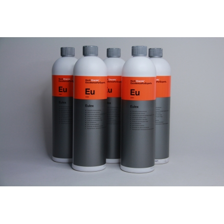 Koch Chemie 5 x 1 L Eulex Klebstoff-, u. Fleckenentferner