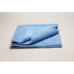 10x Profi-Microfasertuch blau, ultraschallgeschnitten 40x40 cm