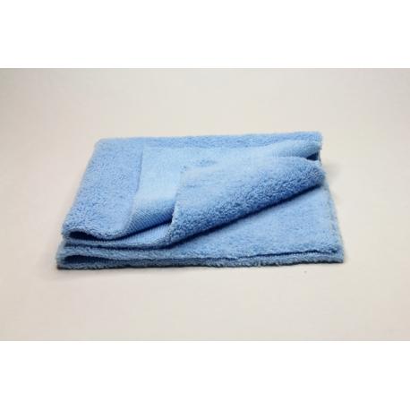 5x Profi-Microfasertuch blau, ultraschallgeschnitten 40x40 cm